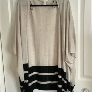Light cardigan, excellent condition, fits loose.